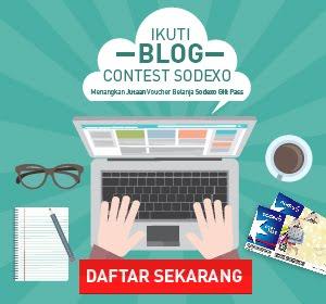 Sodexo Blogging Contest