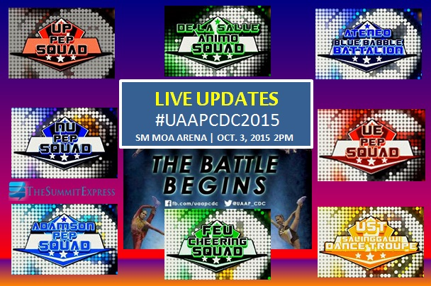UAAP Cheerdance Competition CDC 2015 Updates