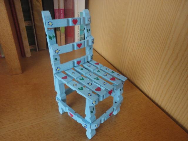 bab n e altro sedioline con mollette da bucato