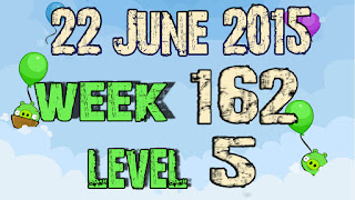 Angry Birds Friends Tournament level 5 Week 162