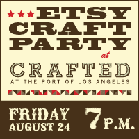 etsy craft party button