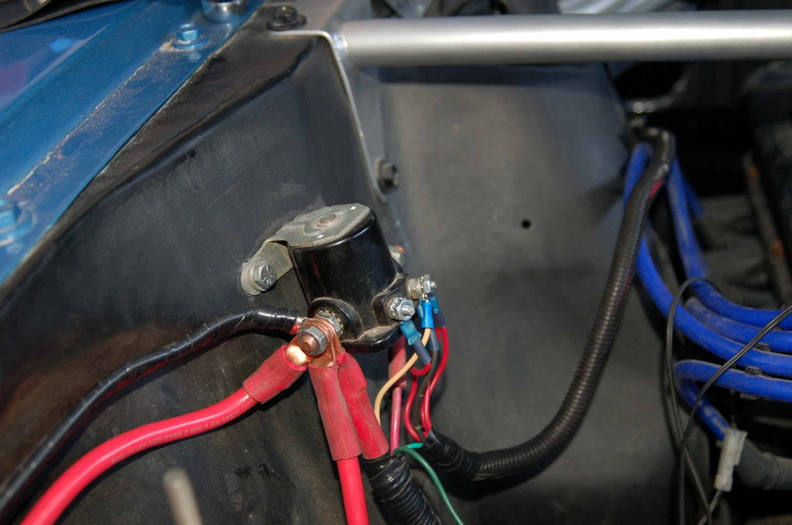 lelu u0026 39 s 66 mustang  battery connections and lighting