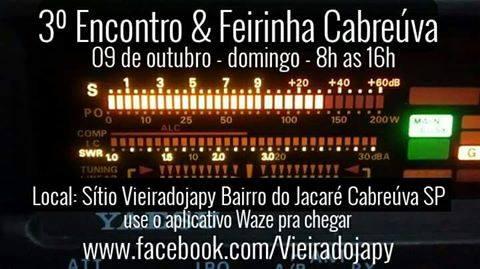 3º ENCONTRO & FEIRINHA CABREÚVA