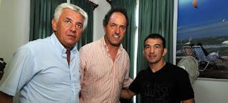 El gobernador Scioli apoya a Narvaez