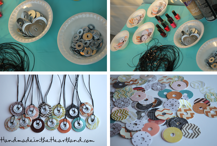 Easy diy washer necklaces handmade in the heartland easy diy washer necklaces aloadofball Choice Image
