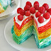 How To Make Rainbow Crepe Cake