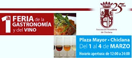 "I FERIA GASTRONOMICA Y DEL VINO ""SABORES DE CHICLANA""CHICLANA"