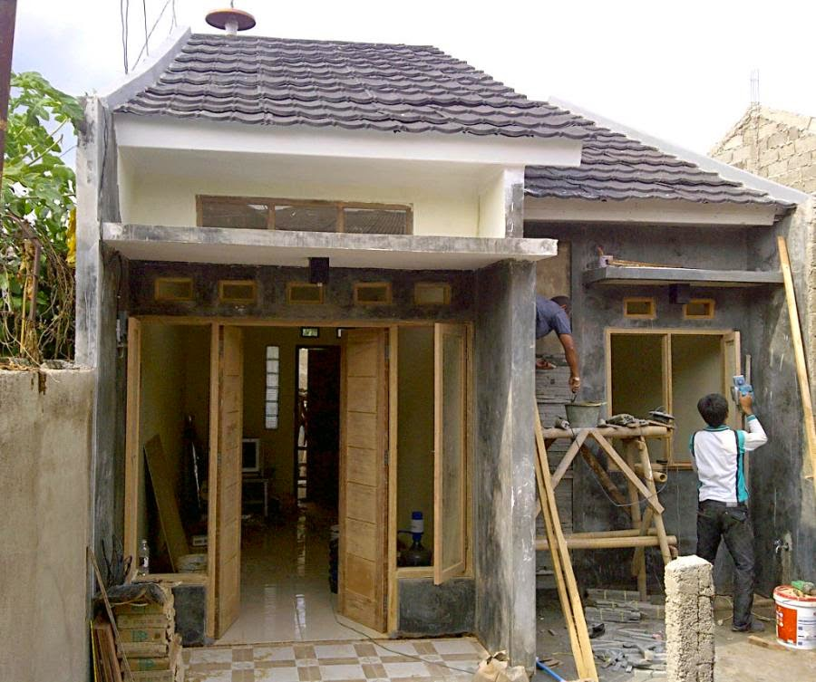 rumah kecil minimalis modern terbaru 2017 1 lantai dan 2