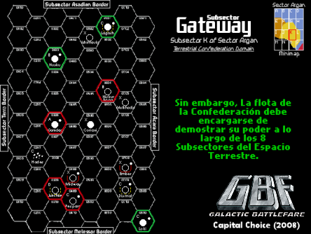 Galactic Battlefare Introduction sequence