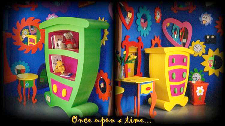 Whimsical Painted Furniture Art
