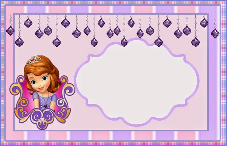 Molduras para Fotos Princesa Sofia | Toda Atual