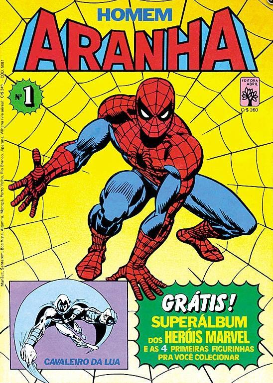 Homem Aranha1 - Editora Abril