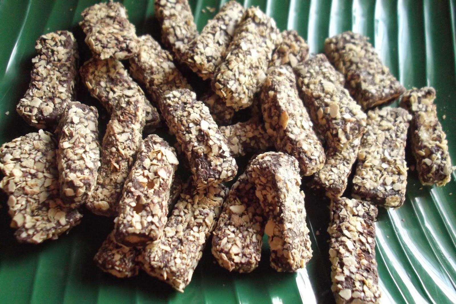 Biskut Jejari Roti Coklat