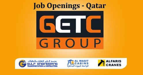 Getc Group Job Openings   Qatar ~ Gulf Job Vacancies