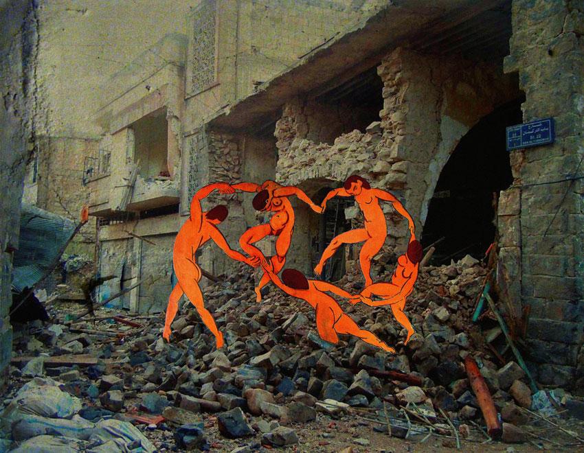 yiweilim, yi wei lim, tammam azzam, i the syrian, syrian war, syria, syria uprising, syrian artist, henri matisse, matisse the dance, matisse