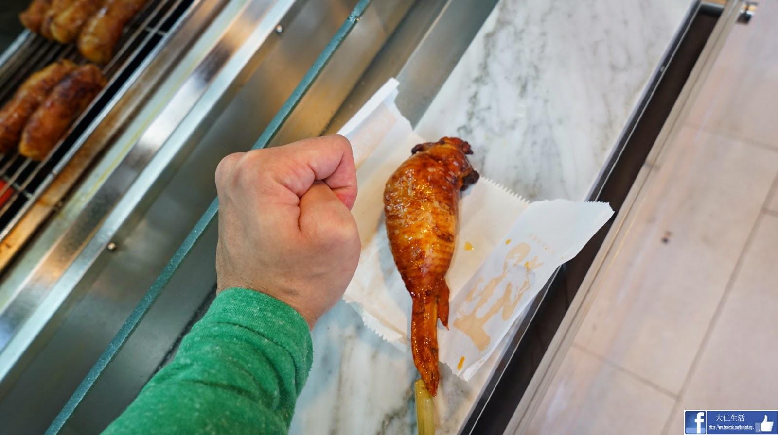 台灣 夜市 名物 雞翅 包飯 有一腿 深水埗