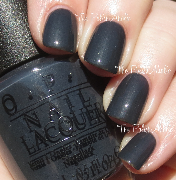 The Polishaholic Opi Fifty Shades Of Grey Collection Swatches