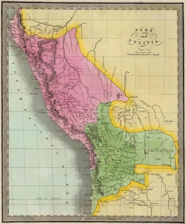 Atlas geografico de Bolivia y universal