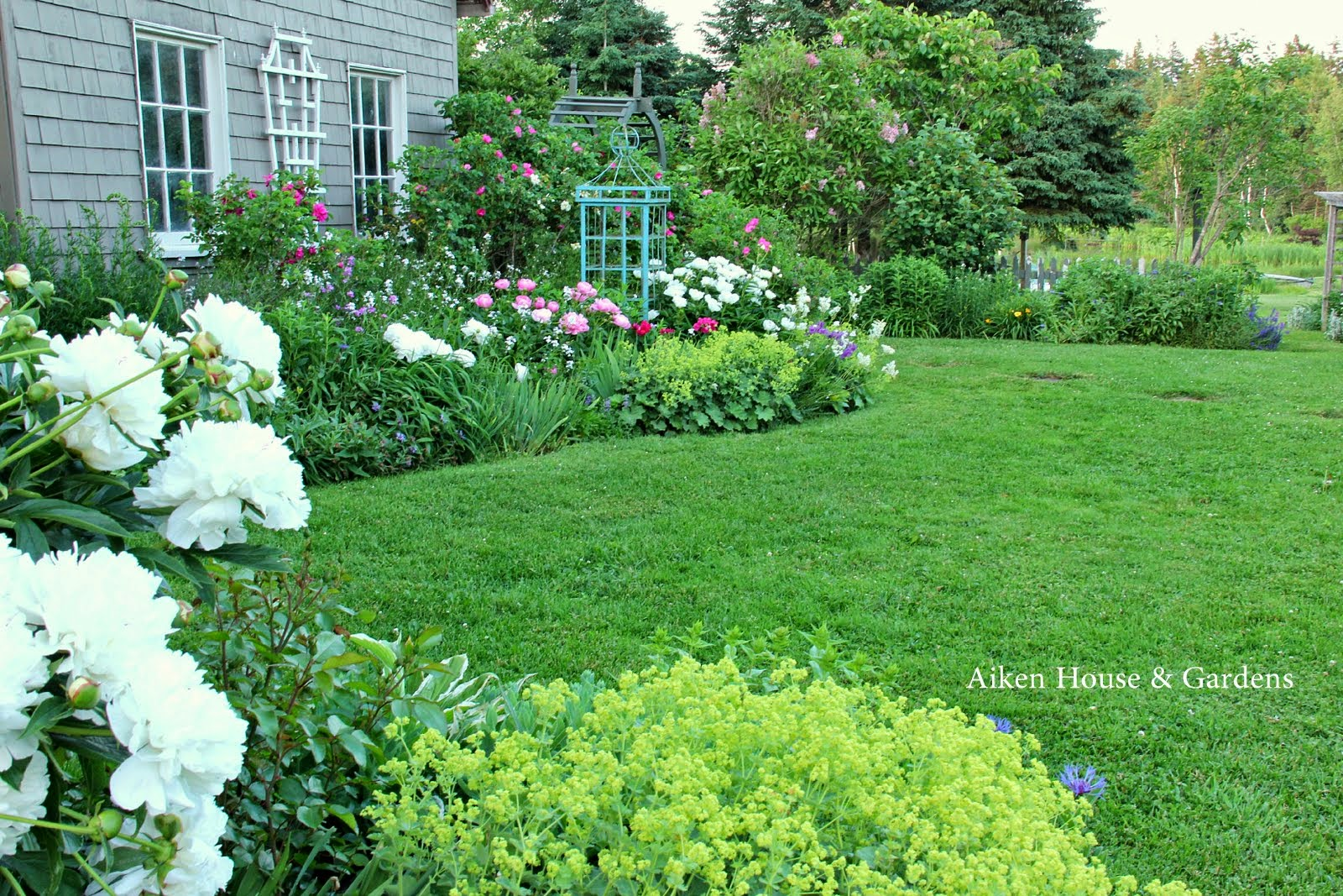 Aiken House Gardens In an English Country Garden