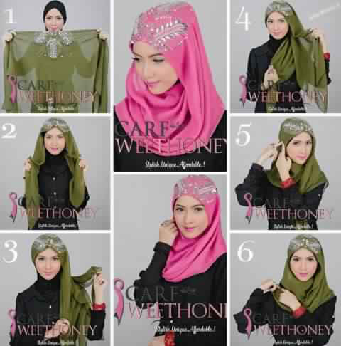 Tutoriel hijab pour tous les jours