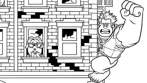 Disney Soul: Dibujos para colorear de ¡Rompe Ralph! (Wreck-It Ralph)