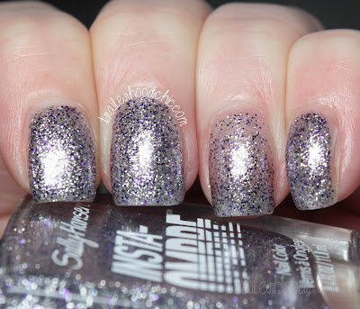 sally hansen insta ombre review swatches layer on lilac