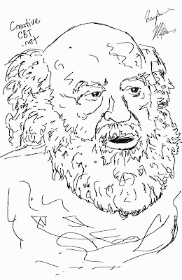 Fritz Perls Sketch