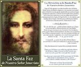 LA SANTA FAZ DE NUESTRO SEÑOR JESUCRISTO