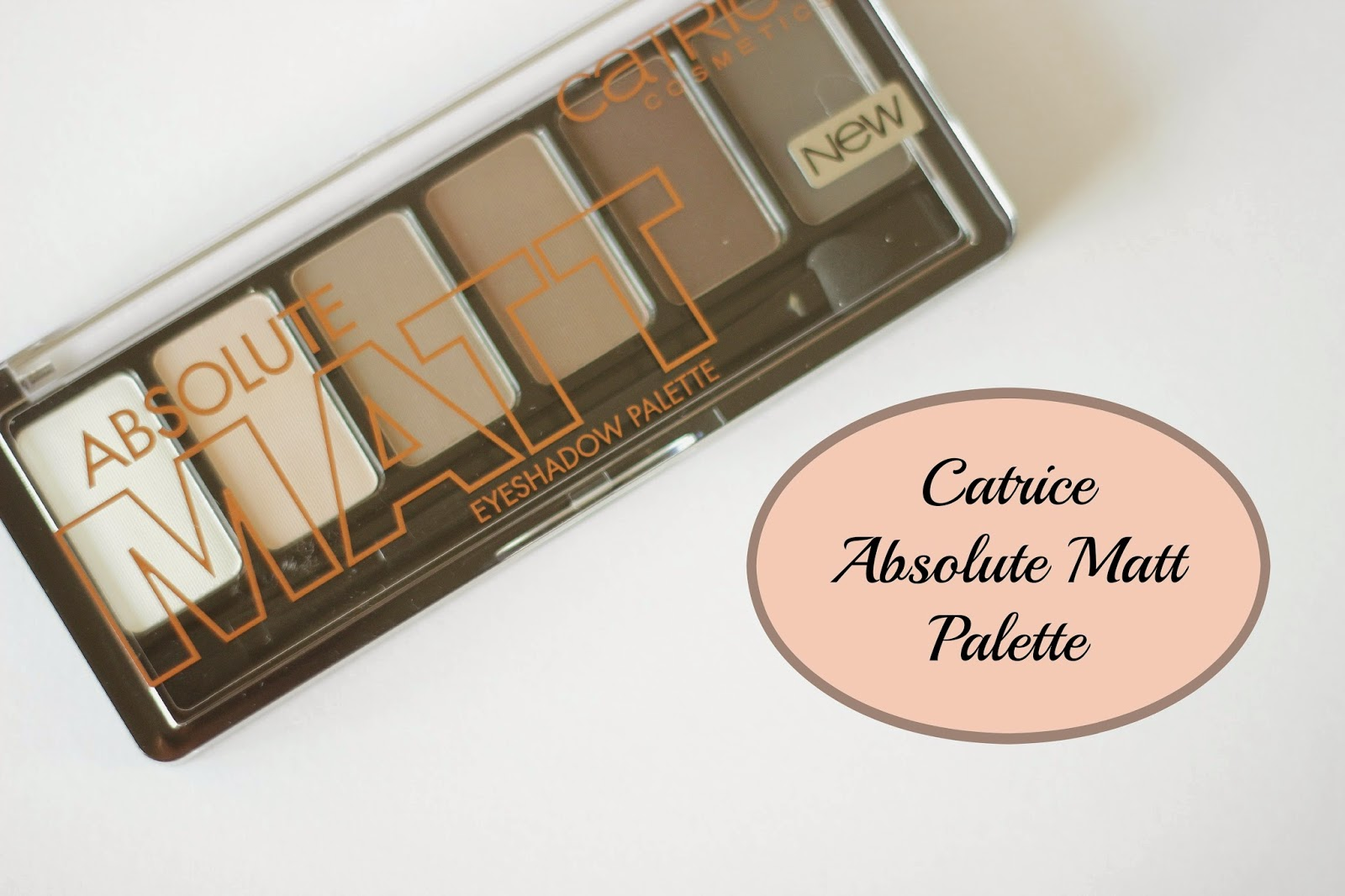 review catrice absolute matt eyeshadow pallet