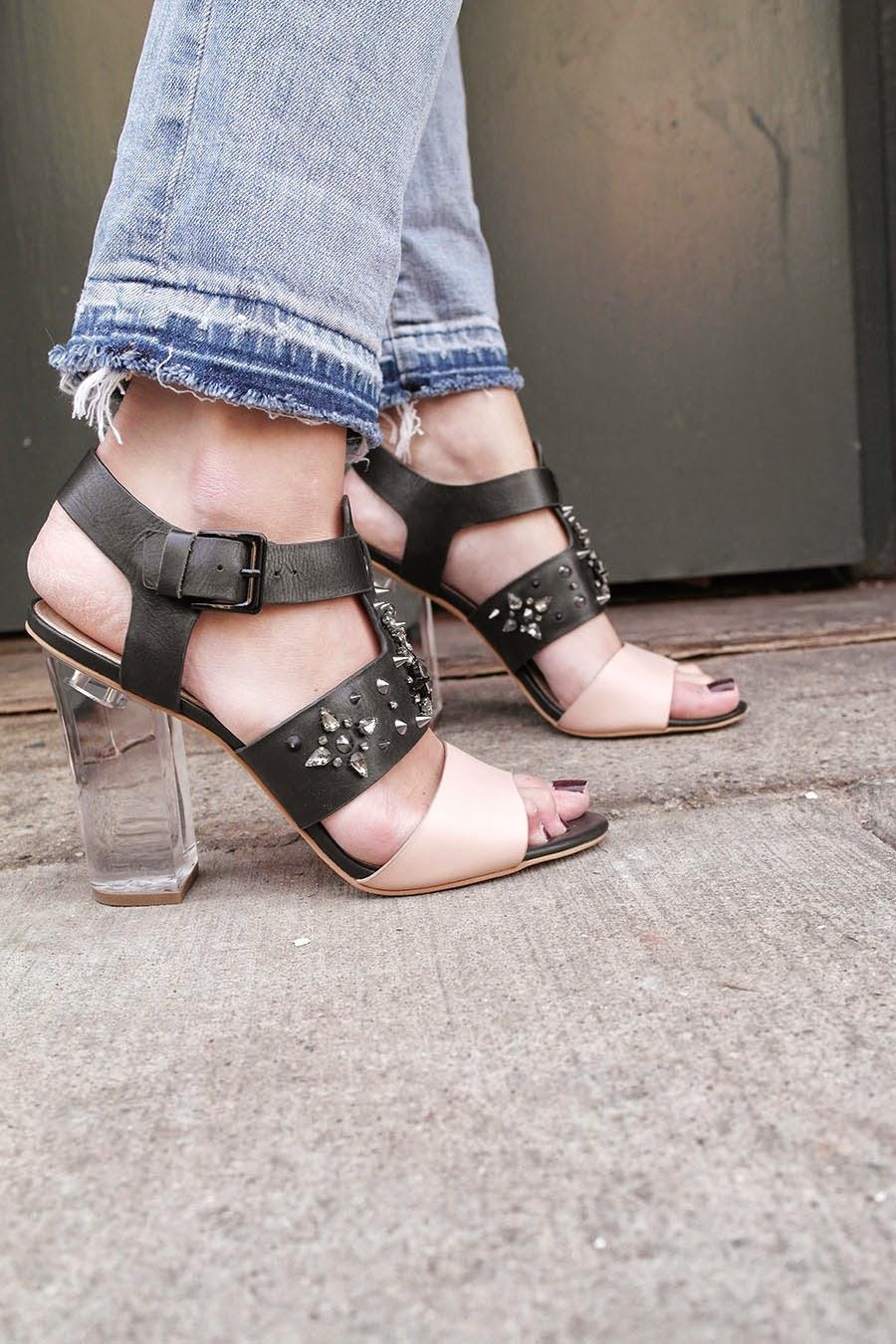Boyfriend Jeans, Heels