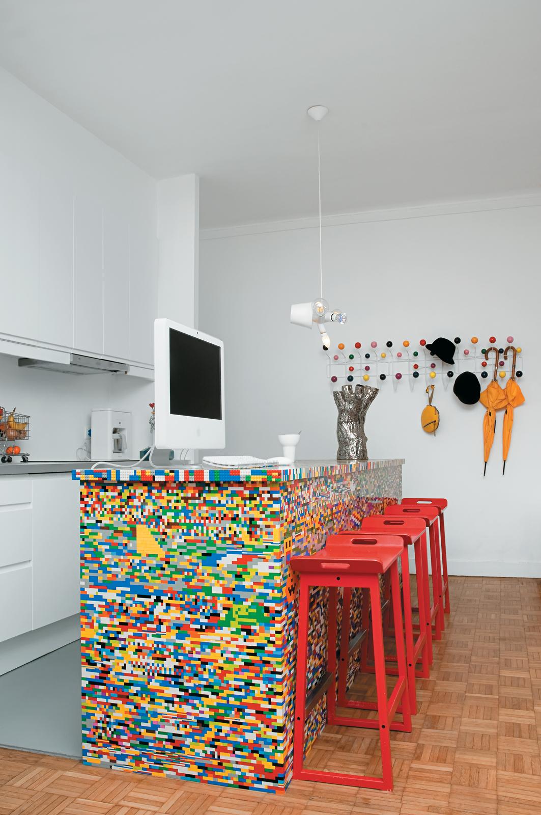 Simon Pillard And Philippe Rossetti S Lego Kitchen Island