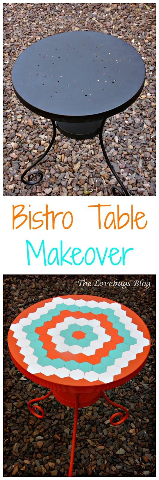 DIY Easy Bistro Table Makeover