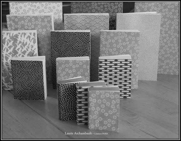 carnets papier Laure Archambault Laurie et les Petites Mains