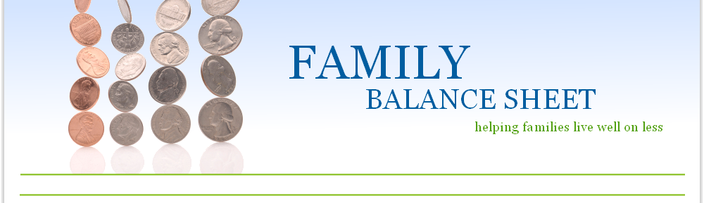 Family Balance Sheet