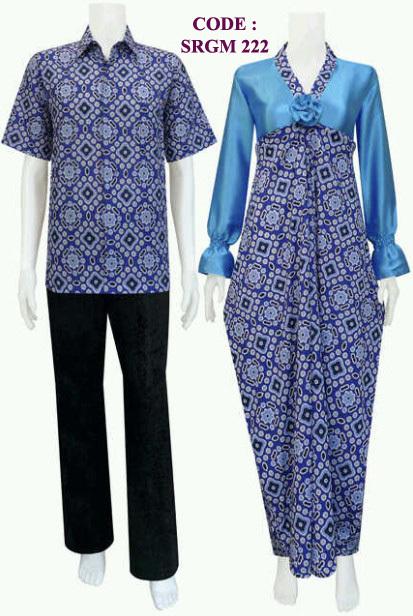 Model baju batik muslim terbaru 2013