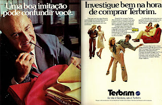 propaganda Terbrim - 1976. moda anos 70; propaganda anos 70; história da década de 70; reclames anos 70; brazil in the 70s; Oswaldo Hernandez