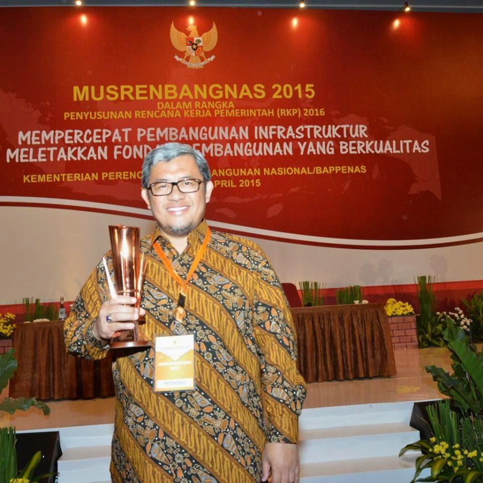 Kelima Kalinya Provinsi Jabar Terima Anugerah Pangripta Nusantara