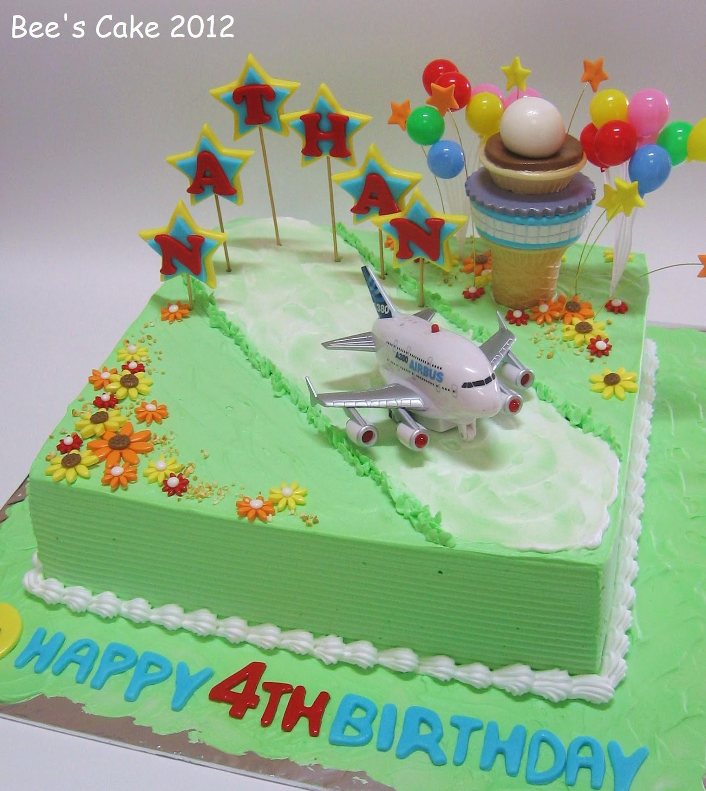 Bees Cake Airport