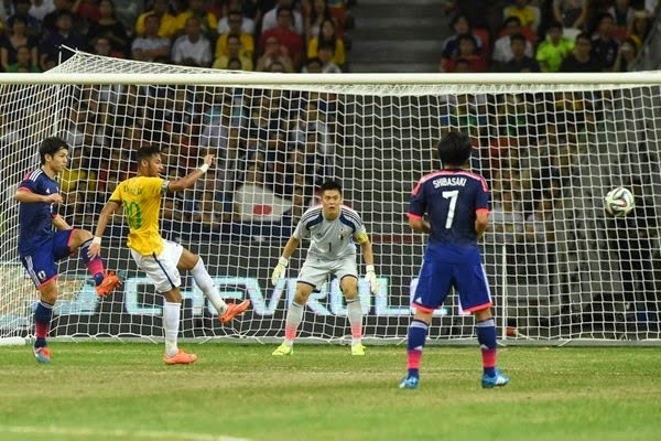 Brasil Golea a Japón en amistoso