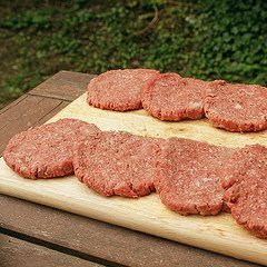 Hamburgers by m.mate via Flickr and a Creative Commons license
