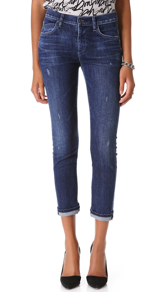 Citizens Of Humanity Carlton Retro High Rise Jean In Raven