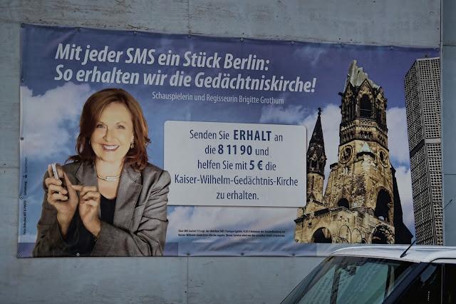 Baustelle Kaiser-Wilhelm-Gedächtnis-Kirche, Denkmalgerechte Sanierung der Turmruine, Breitscheidplatz, 10789 Berlin, 24.10.2013