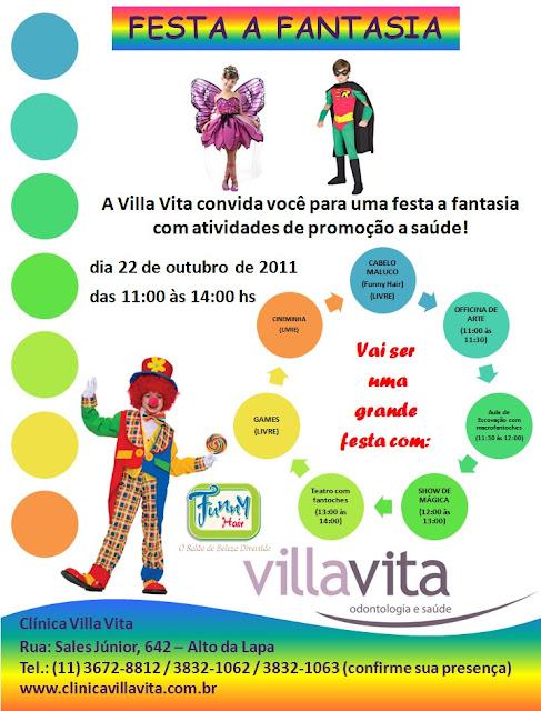 Festa%252520-%252520ok - Festinha ä Fantasia Dia das Crianças. Venha se divertir conosco!