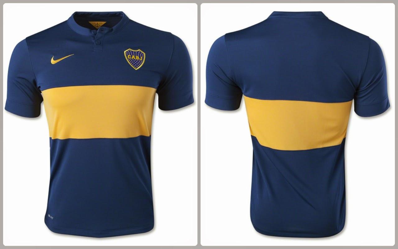 433aed8c2 Boca Juniors Home Jersey 14 15
