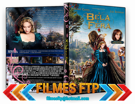 A Bela e a Fera 2014 DVD-R OFICIAL