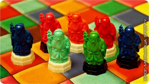 Настольная игра Камисадо (Kamisado)