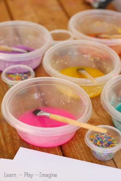 Frosting paint recipe - How to make frosting paint with just three ingredients