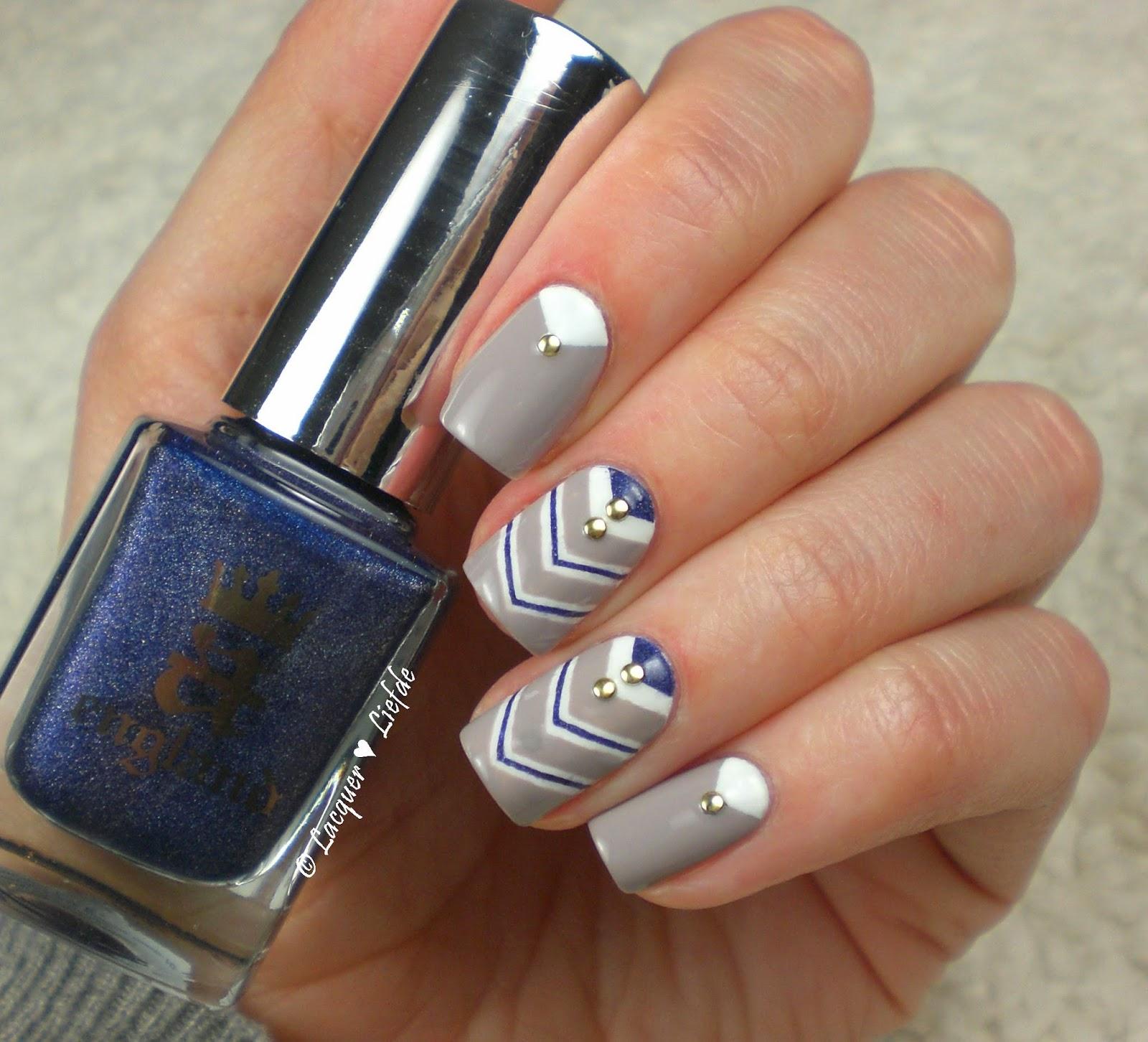 Navi Nails Anker Design mit Essie und OPI