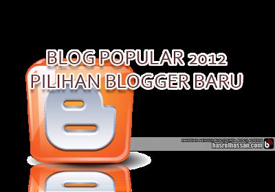 Blog Popular 2012