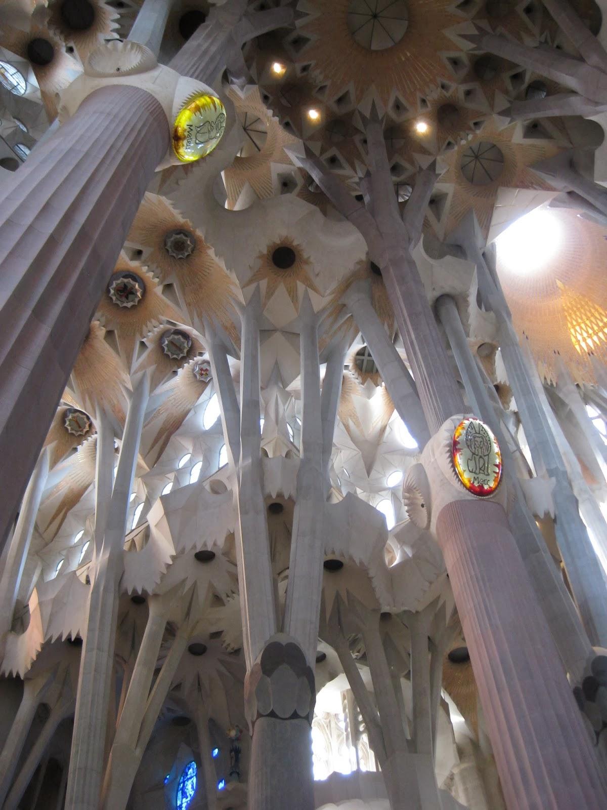 Barcelona - Inside La Sagrada Familia